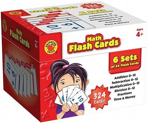 Brighter Child Math Flash Cards By Carson-dellosa Publishing (COR)